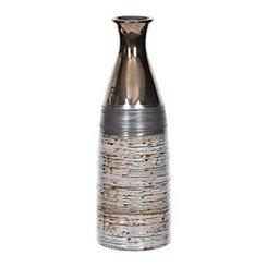 Multi Tone Bronze Ceramic Vase