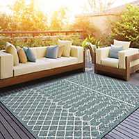 Placid Portico Sun Shower Outdoor Area Rug
