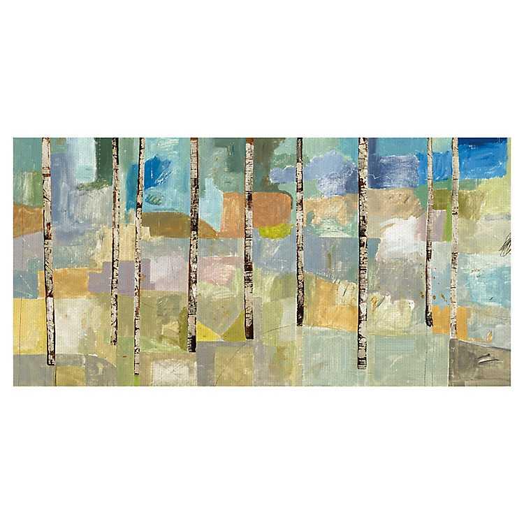 Aspen Tree V Canvas Art Print Kirklands