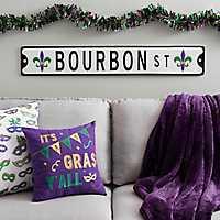 Bourboun Street Sign