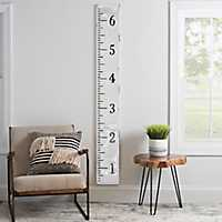 White Faux Enamel Ruler