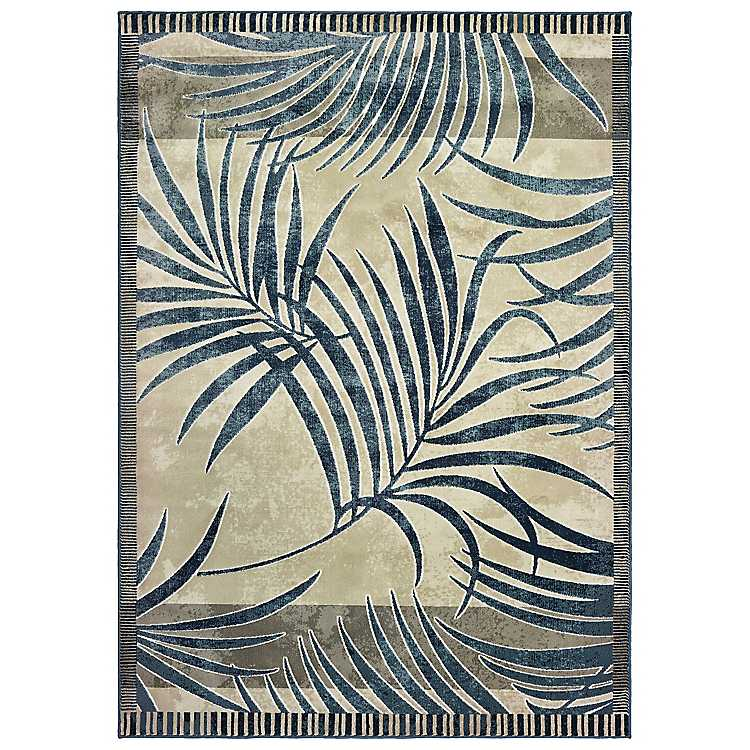 Palm Area Rug 5x7 Kirklands
