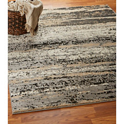 Contemporary Abstract Infinity Area Rug 5x7
