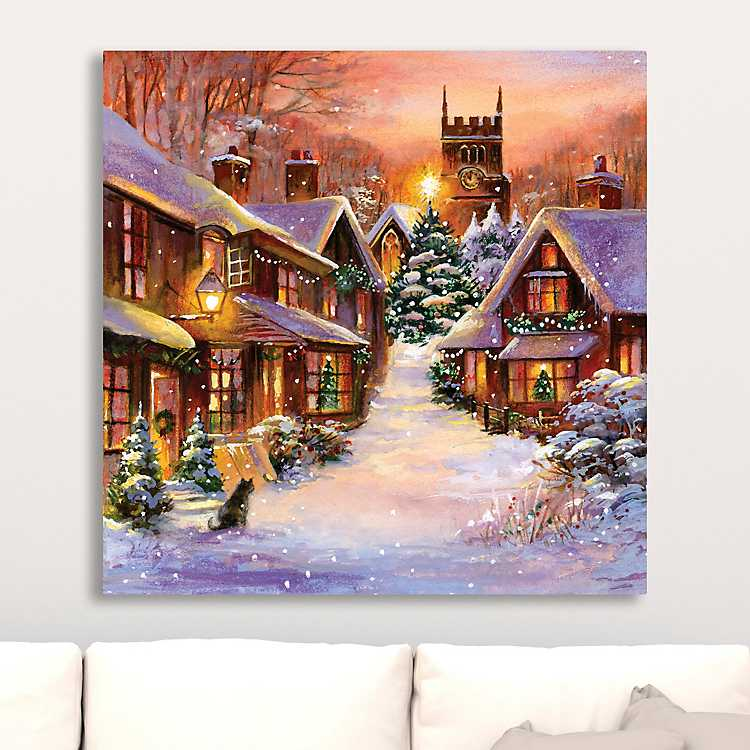 Christmas Beacon I Canvas Art Print | Kirklands