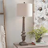 Brown Kota Buffet Lamp