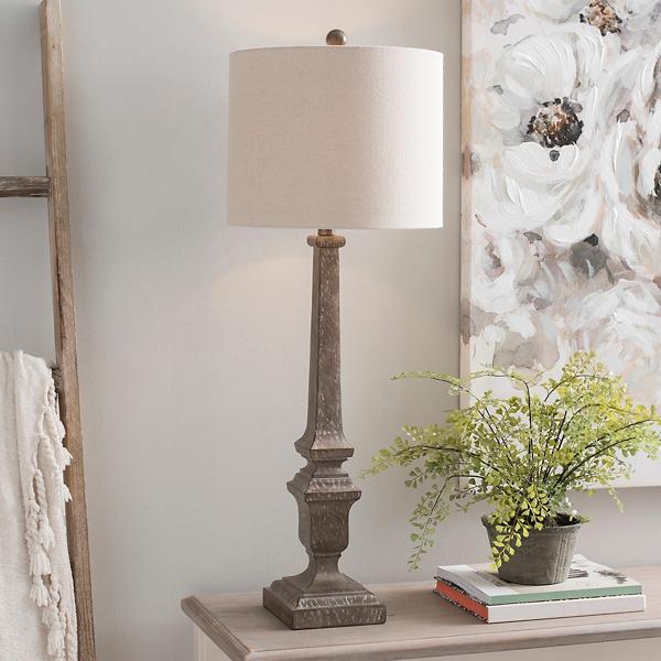 Brown Kota Buffet Lamp