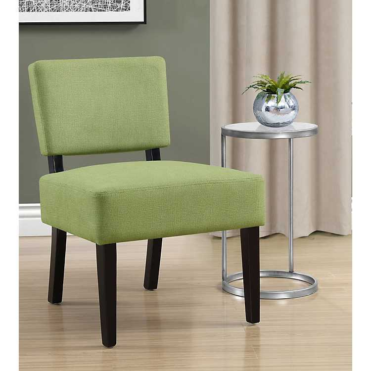 Vera Lime Green Accent Chair