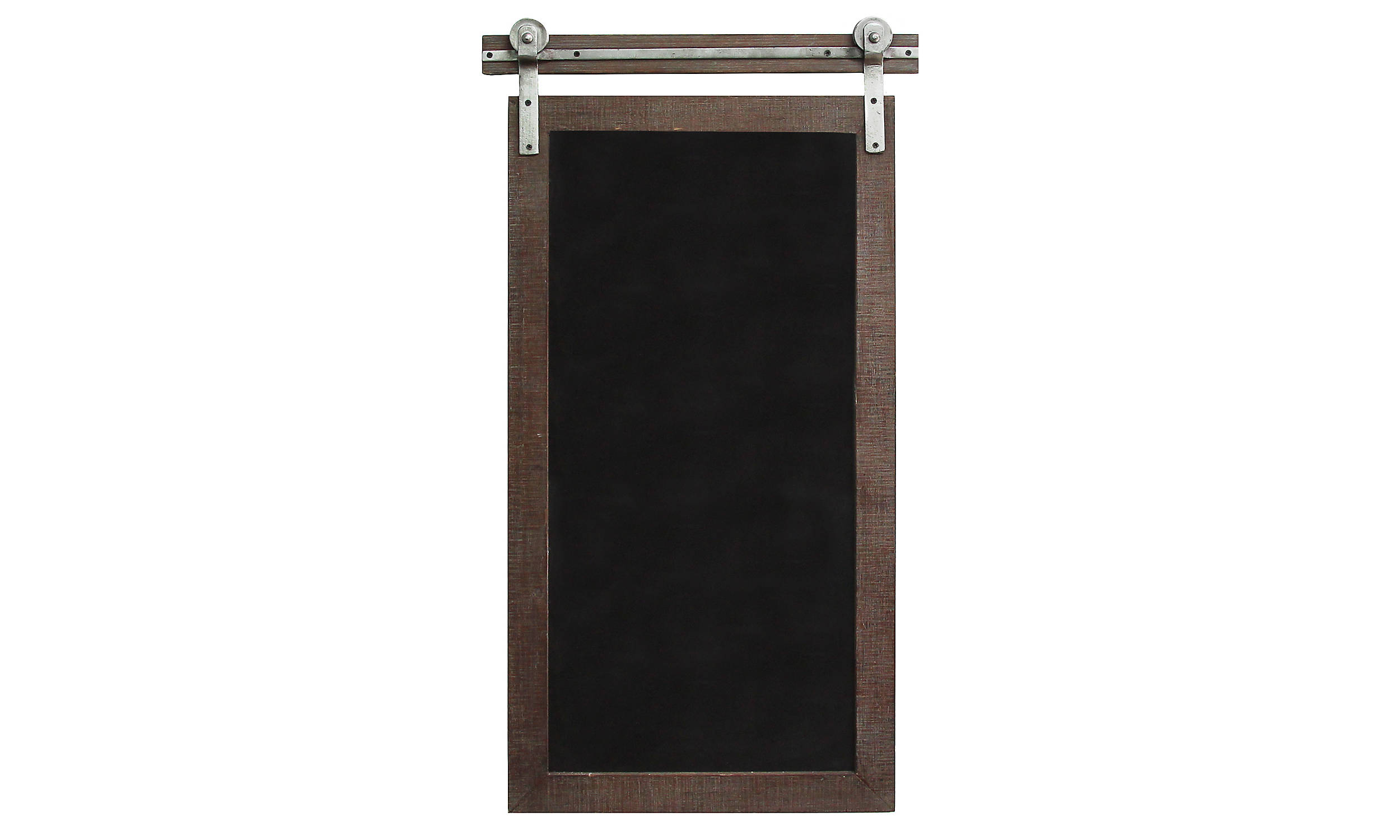rustic farmhouse chalkboard sliding barn door hardware