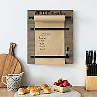 Write it Down Memo Board with Rolling Paper