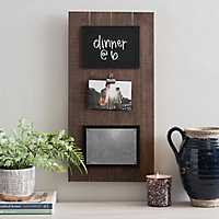 Wood Pallet Memo Board Collage