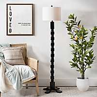Matte Black Windsor Floor Lamp