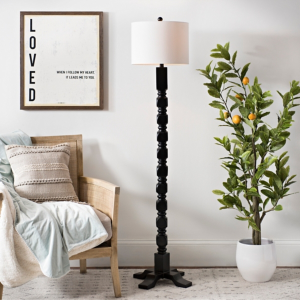 Matte Black Windsor Floor Lamp