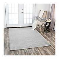 Gray Tweed Seabrook Area Rug