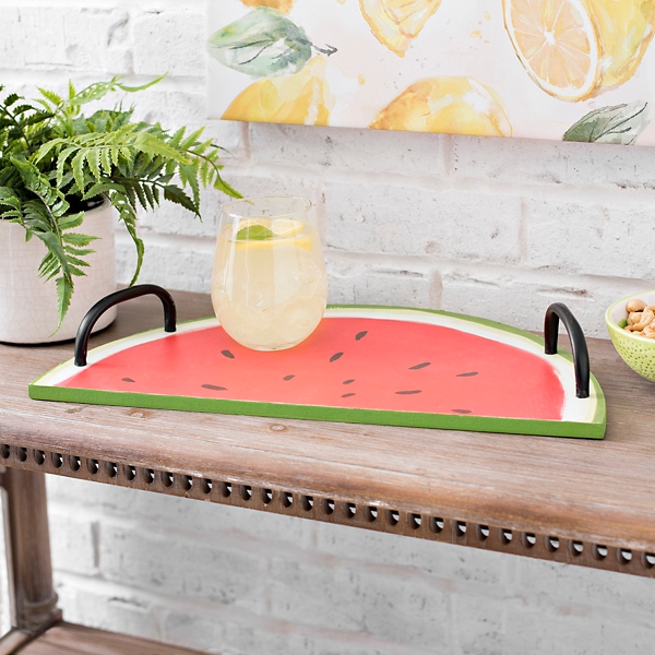 Watermelon Slice Serving Tray