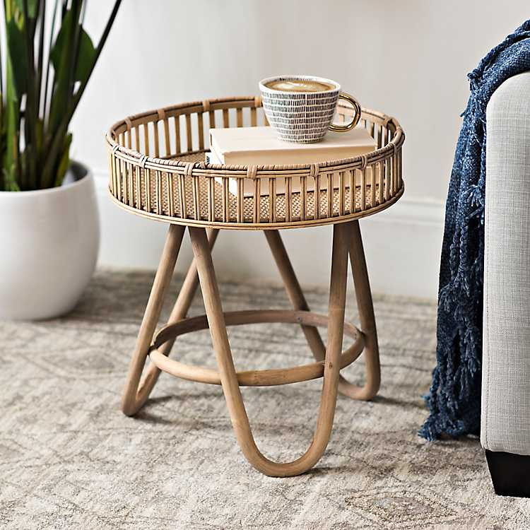 Product Details Small Rattan Side Table