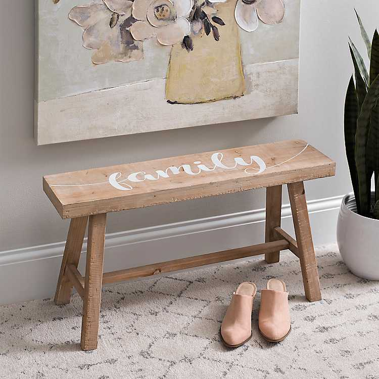 Amazing Family Accent Bench Ncnpc Chair Design For Home Ncnpcorg