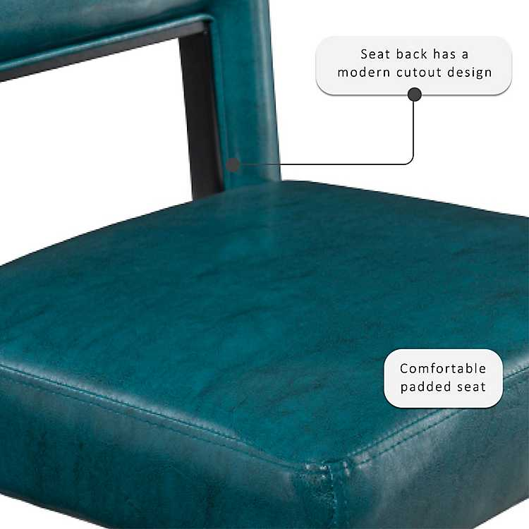 Magnificent Blakely Blue Seat Counter Stool With Black Base Lamtechconsult Wood Chair Design Ideas Lamtechconsultcom