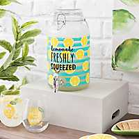 Freshly Squeezed Lemonade Beverage Dispenser