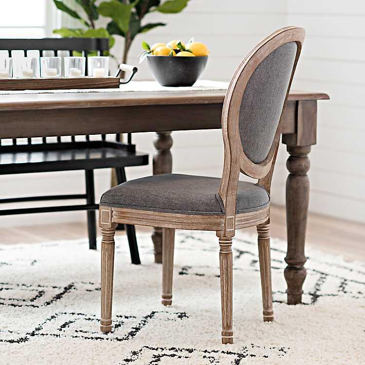 Strange Warm Gray Louis Dining Chair Spiritservingveterans Wood Chair Design Ideas Spiritservingveteransorg