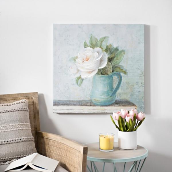 June Roses Canvas Art Print