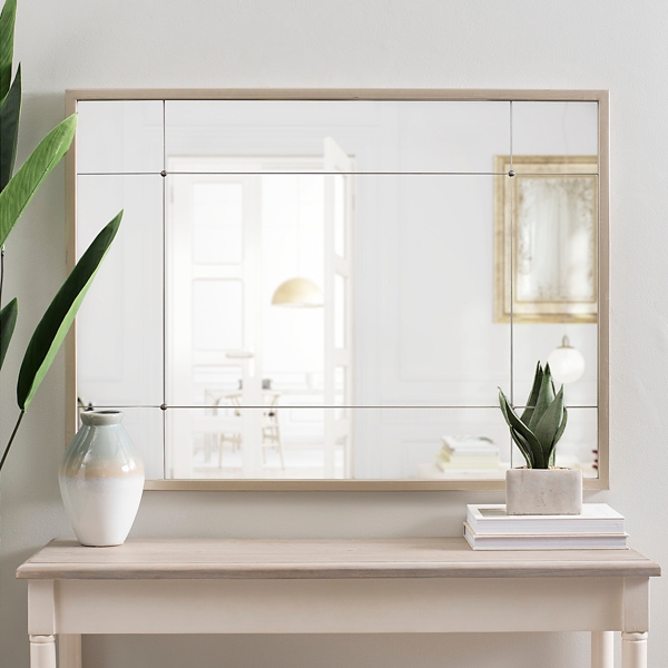 Rose Gold Eleanor Panel Wall Mirror