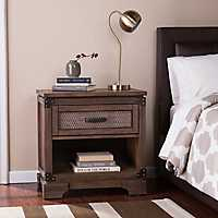 Industrial Style Donte Single Drawer Nightstand
