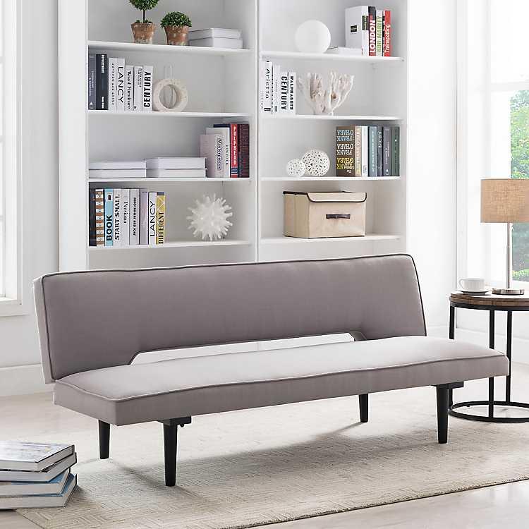 Gray Milo Convertible Futon Bed Kirklands