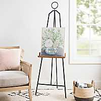 Metal and Wood Floor Easel
