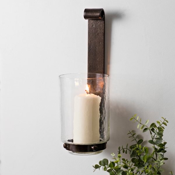 Connor Metal and Glass Sconce