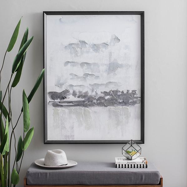 Abstract Ink Framed Art Print