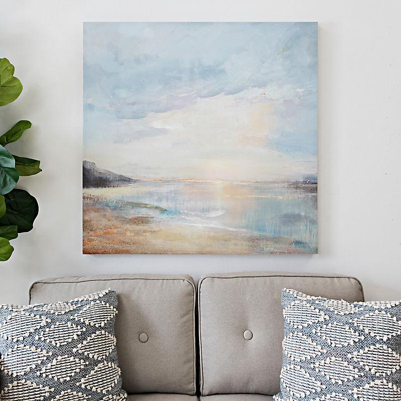 Seaside View Canvas Art Print