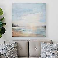 Seaside View Canvas Art Print
