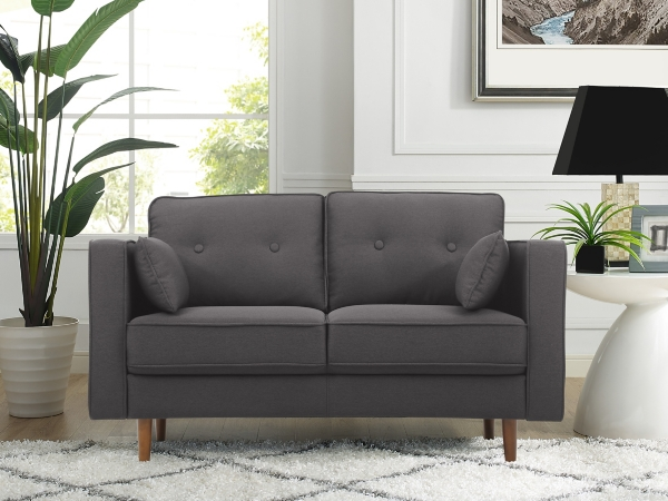 Gray Tacoma Loveseat