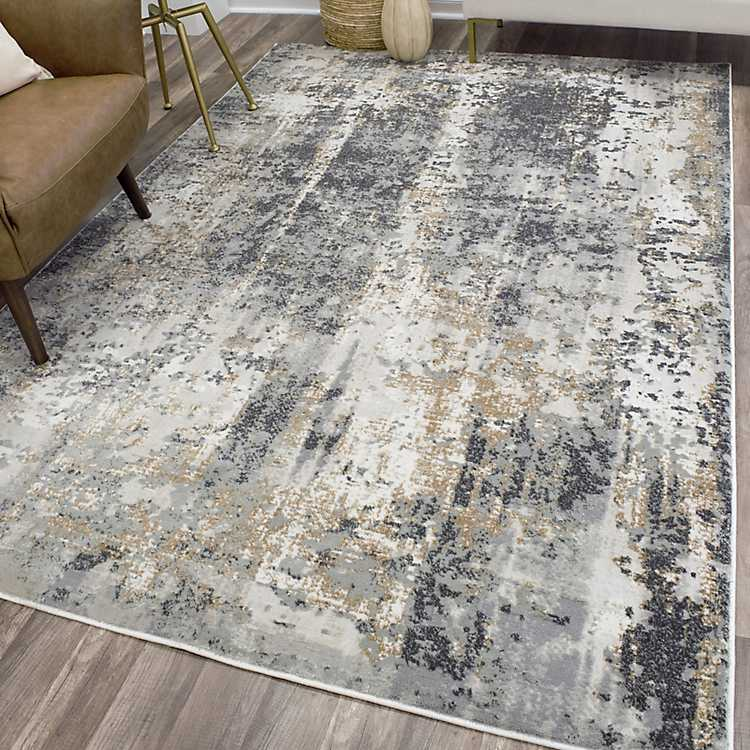 Silver Light High Low Auden Area Rug