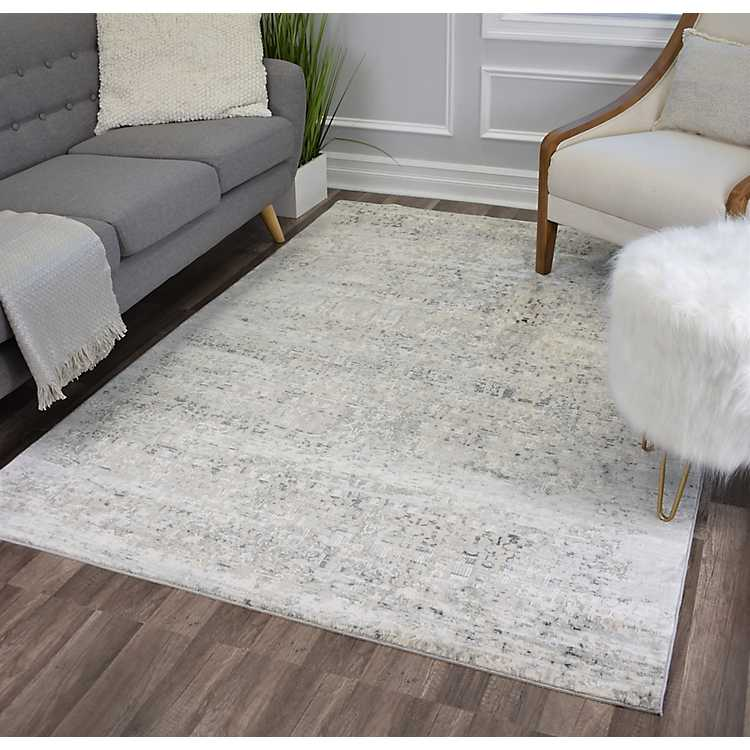 Icicle Jessah High-Low Area Rug, 5x7