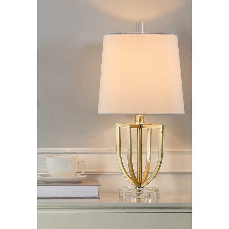 Gold Fashion Accent Table Lamp Kirklands