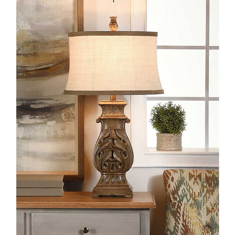 Brown French Country Table Lamp Kirklands