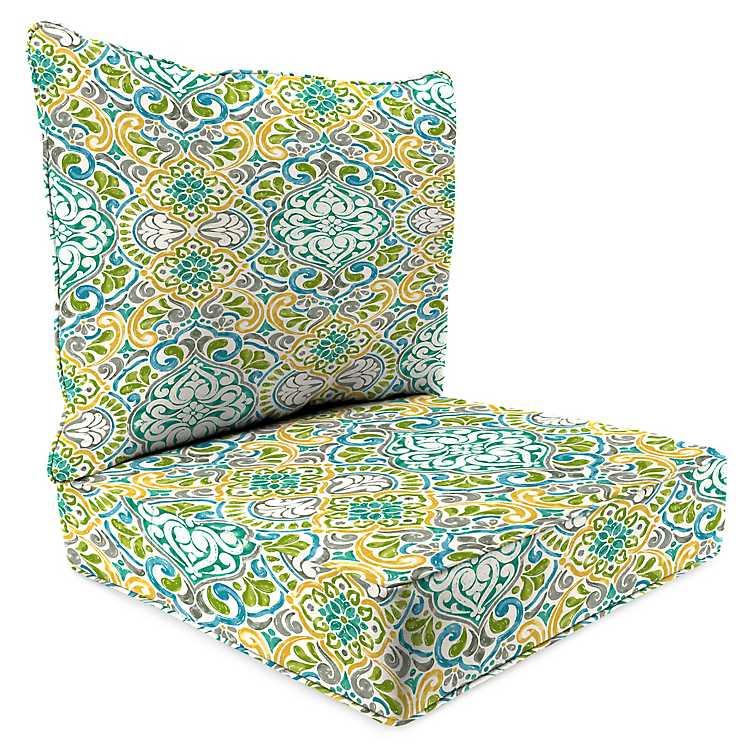 2 Pc Outdoor Deep Seat Cushion