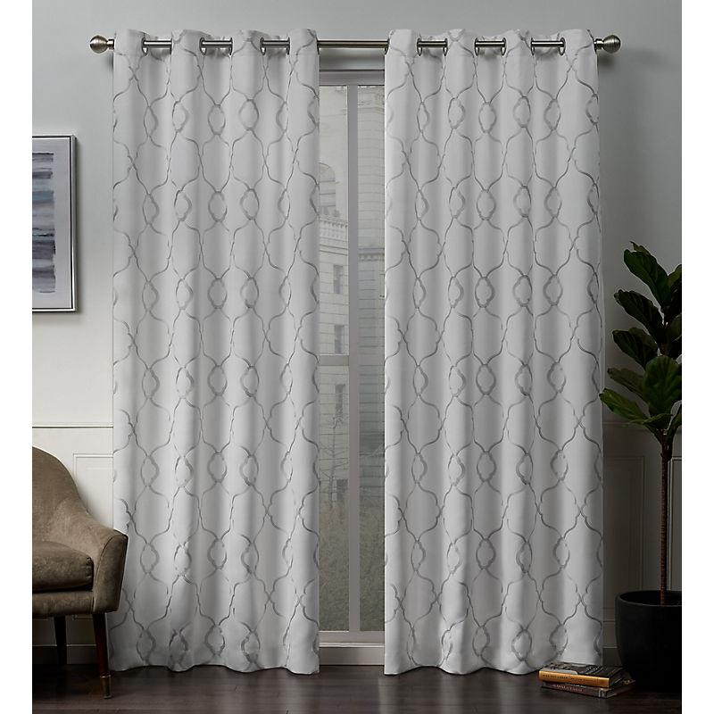 Winter Belmont Blackout Curtain Panel Set