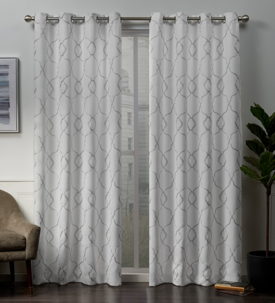 Winter Belmont Blackout Curtain Panel Set
