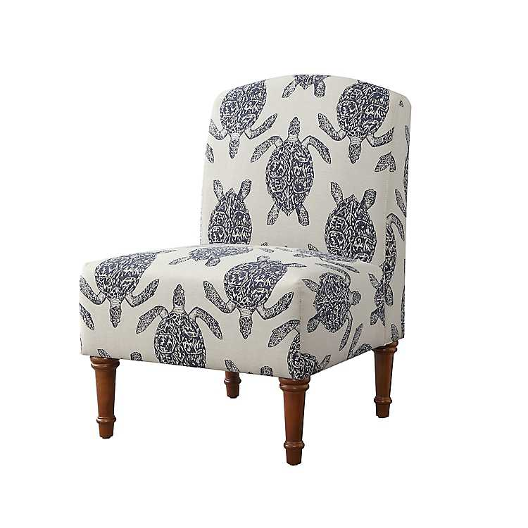 Swell Sea Turtle Print Accent Chair Forskolin Free Trial Chair Design Images Forskolin Free Trialorg