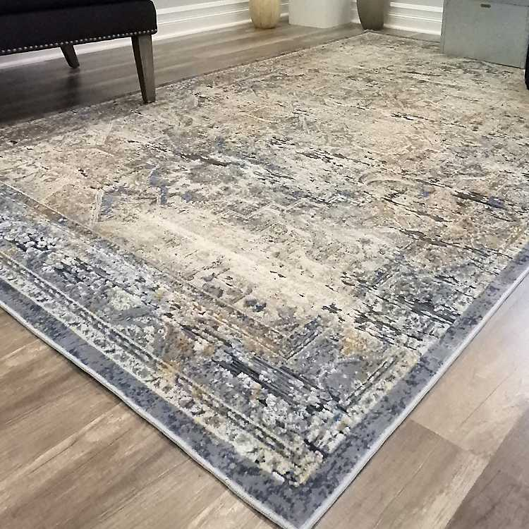 Navy Blue Cambridge Area Rug 8x10 Ft