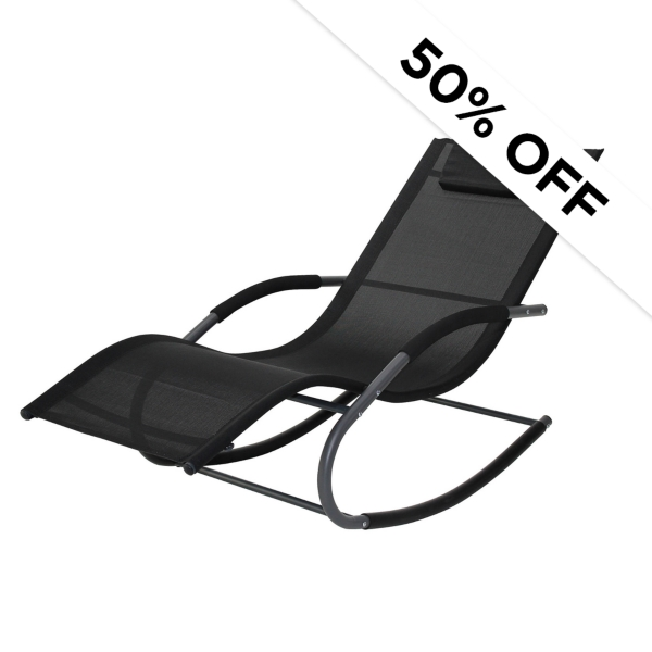 50% Off - Outdoor Loungers - Was $199.99 - Now $100.00