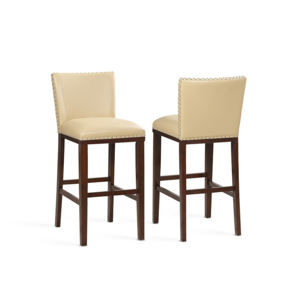 Astounding Toffee Taryn Bar Stools Set Of 2 Kirklands Gmtry Best Dining Table And Chair Ideas Images Gmtryco