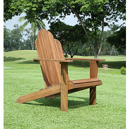 Natural Warren Wood Adirondack Outdoor Chair