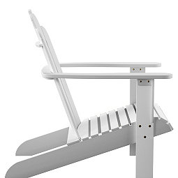 White Warren Wood Adirondack Outdoor Chair