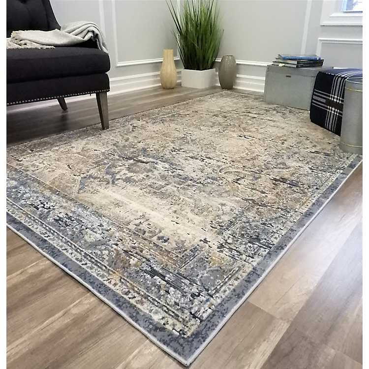 Navy Blue Cambridge Area Rug 8x10