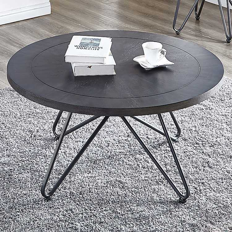 Round Coffee Table Hairpin Legs 11