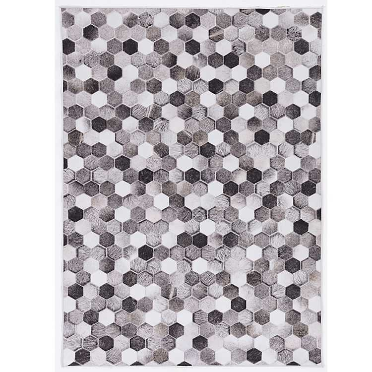 Gray Houston Braxton Area Rug, 5x7