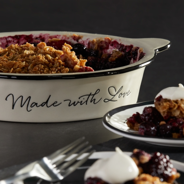 Made With Love Pie Dish